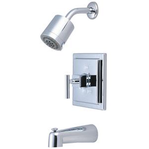 Rio Polished Chrome Tub & Shower Faucet