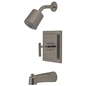 Sydney Satin Nickel Tub and Shower Faucet