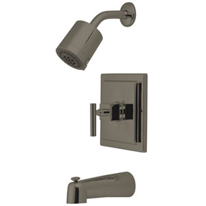 Rio Satin Nickel Tub & Shower Faucet