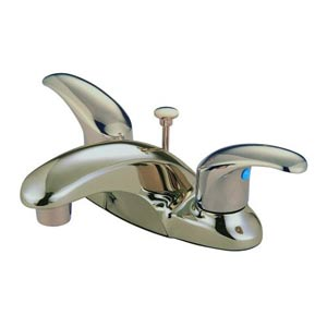 Daytona Satin Nickel Centerset Bathroom Faucet