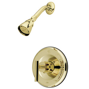 Sydney Polished Brass Tub and Shower Faucet (Shower Only)