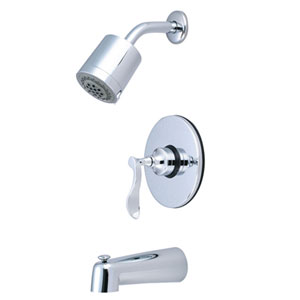 Marseille Polished Chrome Single Handle Pressure Balanced Tub & Shower Faucet
