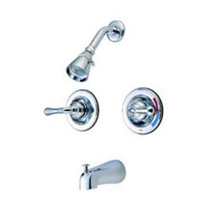 St. Charles Chrome Pressure Balanced Tub and Shower Faucet