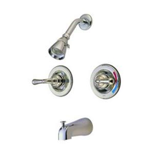 St. Charles Satin Nickel Pressure Balanced Tub and Shower Faucet