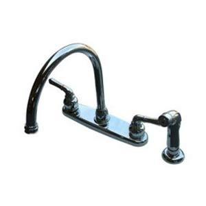 Magellan Chrome 8-Inch Kitchen Faucet with Brass Sprayer