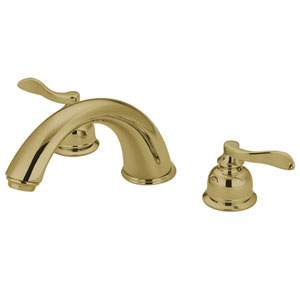 Paris Polished Brass Roman Tub Filler