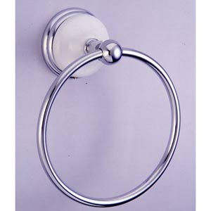 Boston Chrome 6-Inch Towel Ring