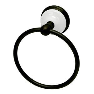 Boston Oil Rubbed Bronze 6-Inch Towel Ring