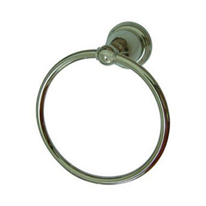 Heritage Polished Nickel Towel Ring