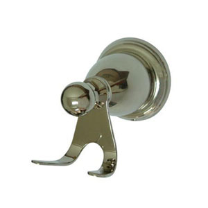 Heritage Polished Nickel Robe Hook
