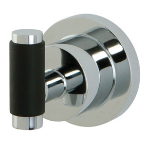 Frankfurt Polished Chrome Robe Hook With 1-1/2-in Rubber Sleeve