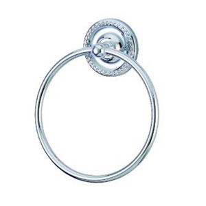 Merri Chrome 6-Inch Towel Ring