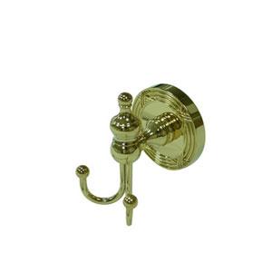 Templeton Polished Brass Robe Hook