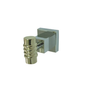 Fortress Chrome and Polished Brass Robe Hook