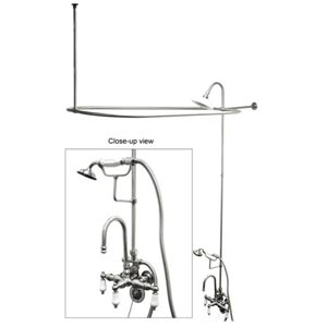 Hot Springs Chrome Professional Shower Combination
