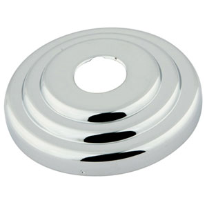 Made to Match Polished Chrome 3-Inch Diameter Decor Escutcheon