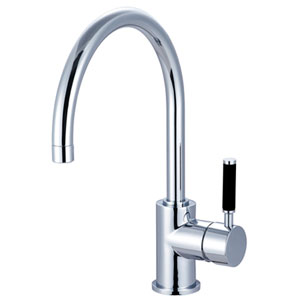 Nu-Vogue Polished Chrome Single Handle Vessel Sink Faucet