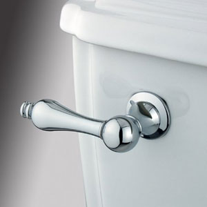 Chrome Metal Decorative Tank Lever