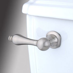 Satin Nickel Metal Decorative Tank Lever