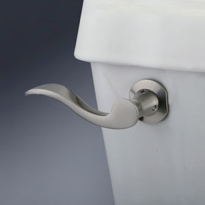 Marseille Satin Nickel Toilet Tank Lever