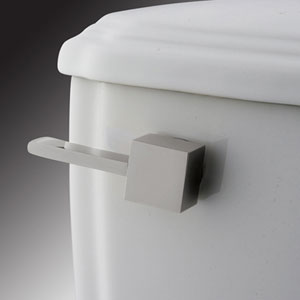 Trips Chrome Toilet Tank Lever