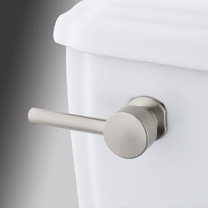 Satin Nickel Concord Decorative Tank Lever