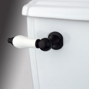 Oil Rubbed Bronze Decorative Porcelain Tank Lever