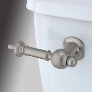 Satin Nickel Decorative Templeton Tank Lever