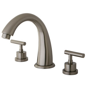 Sydney Satin Nickel Roman Tub Filler