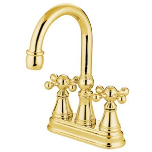 Madison Polished Brass Bar Faucet