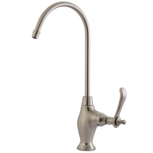 Charlevoix Satin Nickel 1/4-Turn Water Filtration Faucet