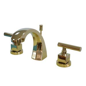 Manhattan Polished Brass Bathroom Faucet