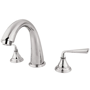 Syracuse Chrome Two Handle Roman Tub Filler