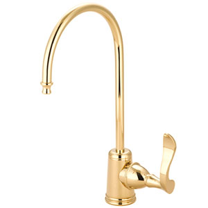 Marseille Polished Brass Single Handle Water Filtration Faucet