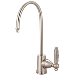 Pure-Aid Satin Nickel Single Handle Water Filtration Faucet