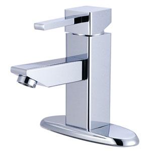 Chrome Claremont Lever 4-Inch Centerset Lavatory Faucet