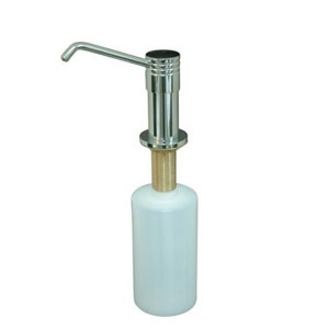 Milano Chrome Decorative Soap Dispenser