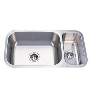 Cambridge Stainless Steel Dual Bowl Undermount Kitchen Sink