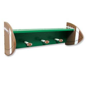 Football Shelf with Pegs