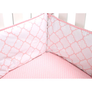 Pink Sky Crib Bumpers