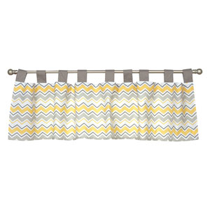 Buttercup Zigzag Window Valance