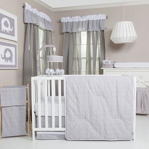 Circles Three-Piece Crib Bedding Set