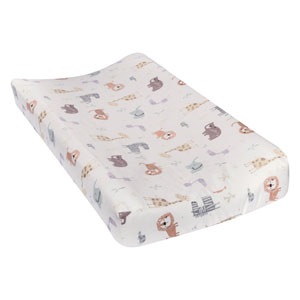 Crayon Jungle Deluxe Flannel Changing Pad Cover