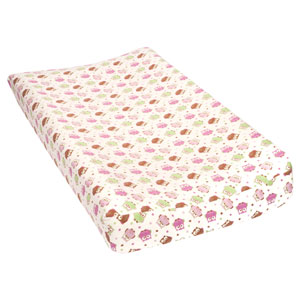Owls Deluxe Flannel Changing Pad Cover