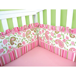 Paisley Park Crib Bumpers