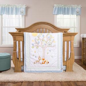 Forest Tales Six-Piece Crib Bedding Set