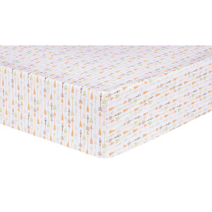 Deer Lodge Arrows Fitted Crib Sheet