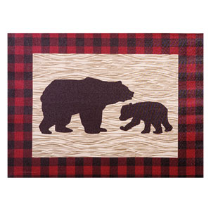 Northwoods Bear Canvas Wall Art