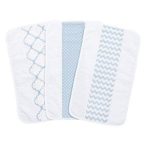 Blue Sky Jumbo Burp Cloth, Set of Three