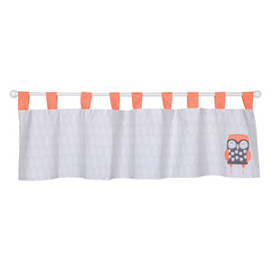 Olive Owl Window Valance